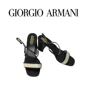 Giorgio Armani Vintage Sandals. Sz 36.5
